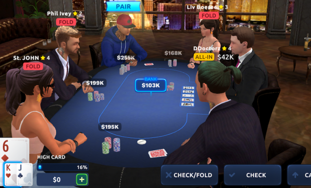 Cara Bermain Game Poker